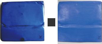 財布のシミの修理例