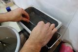 シルバーネックレス修理の過程4