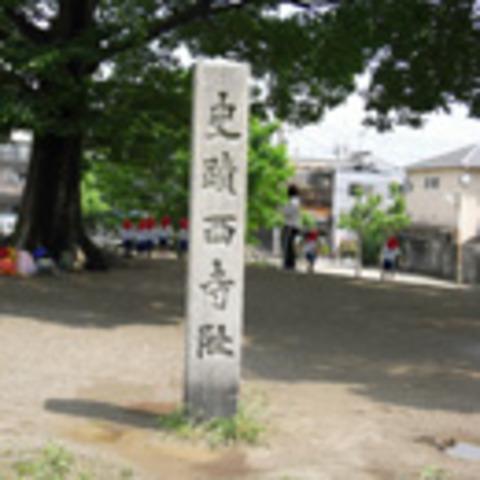 西寺跡の写真
