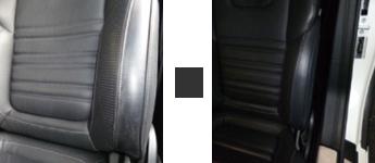 車のシートの修理例