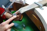 シルバーネックレス修理の過程1