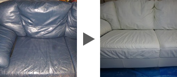 ソファの修理例